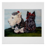Celtic Scottish Terriers Posters