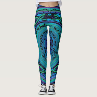 Celtic Sea Serpents Leggings