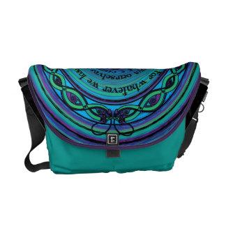 Celtic Sea Serpents Messenger Bag