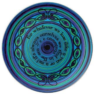 Celtic Sea Serpents Plate