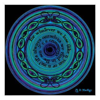 Celtic Sea Serpents Poster