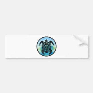 Celtic Sea Turtle Bumper Sticker