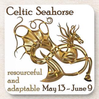 Celtic Seahorse Coaster