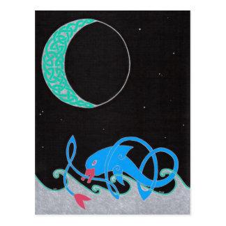 Celtic Seascape postcard