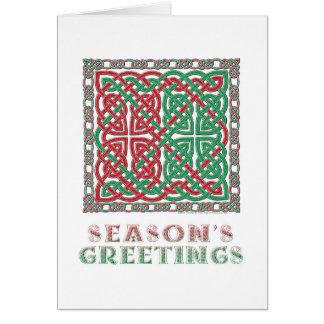 Celtic Season's Greetings Card