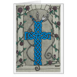 Celtic Serpent Cross card