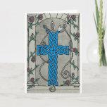 Celtic Serpent Cross card 1