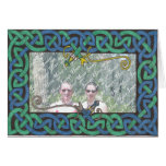 Celtic Serpent Frame card