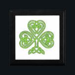 "Celtic Shamrock Box<br><div class=""desc"">irish,  ireland,  leprechauns,  saint,  patrick&#39;s,  day,  shamrocks,  rainbows,  pots,  gold,  luck,  green,  beer</div>"