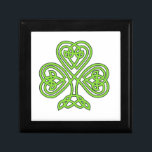 "Celtic Shamrock Box<br><div class=""desc"">irish,  ireland,  leprechauns,  saint,  patrick&#39;s,  day,  shamrocks,  rainbows,  pots,  gold,  luck,  green,  beer</div>"