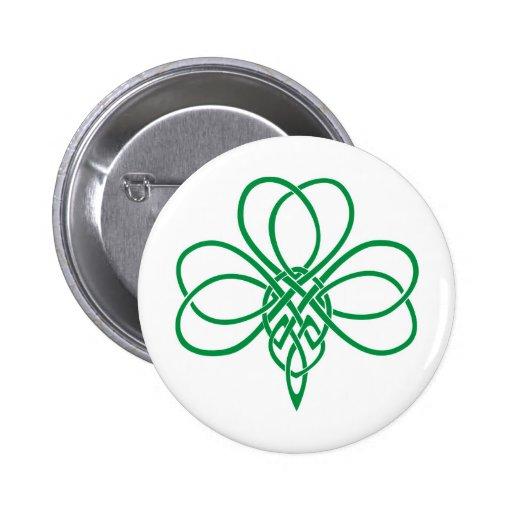 Celtic Shamrock Pin