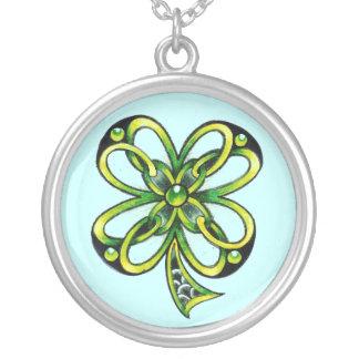 Celtic Shamrock charm by Dana Tyrrell Jewelry
