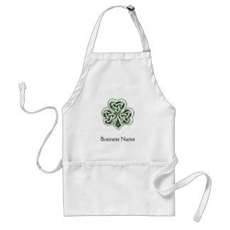 Celtic Shamrock Design 2 Apron
