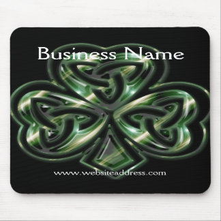 Celtic Shamrock Design 2 Mousepad