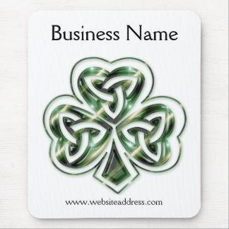Celtic Shamrock Design 2 Mousepad 2