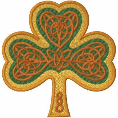 Celtic Shamrock Embroidered Jacket