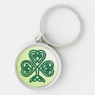 celtic shamrock keychain