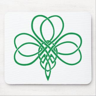Celtic Shamrock Mouse Pad