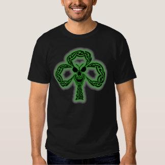 Celtic Shamrock skull T-Shirt