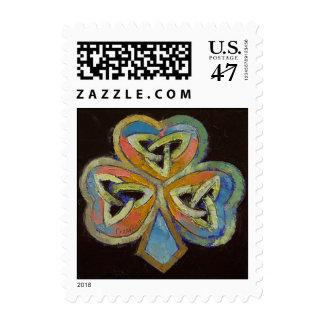 Celtic Shamrock Stamp