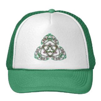 Celtic Shamrock Trucker Hats
