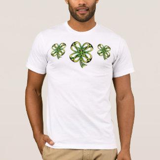 Celtic shamrocks by Dana Tyrrell T-Shirt