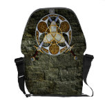Celtic Shield and Swords Courier Bag