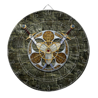 Celtic Shield and Swords Dartboards