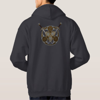 Celtic Shield and Swords Hoodie