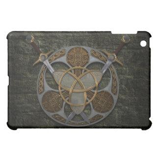 Celtic Shield and Swords iPad Mini Covers