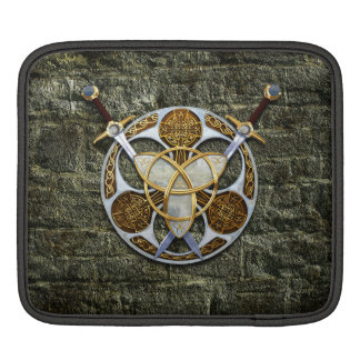Celtic Shield and Swords iPad Sleeves