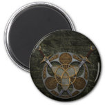Celtic Shield and Swords Magnet