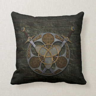 Celtic Shield And Swords Pillow