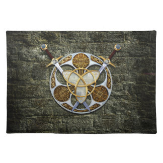 Celtic Shield and Swords Placemat