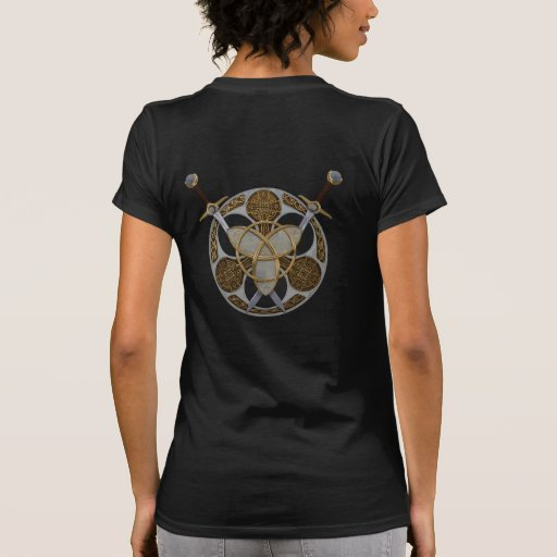 Celtic Shield and Swords T Shirt