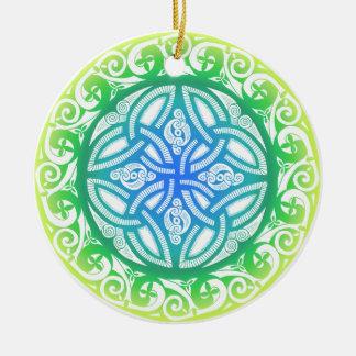 Celtic Shield Design Ornament