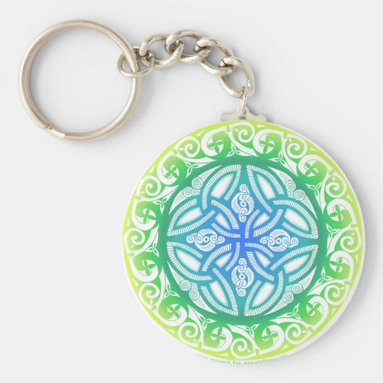 Celtic Shield Keychain