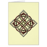 Celtic Shield Knot Card