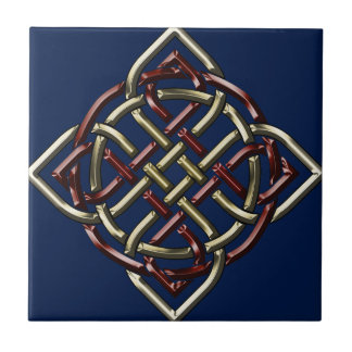 Celtic Shield Knot Ceramic Tile