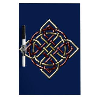 Celtic Shield Knot Dry-Erase Board