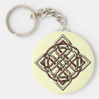 Celtic Shield Knot Keychain