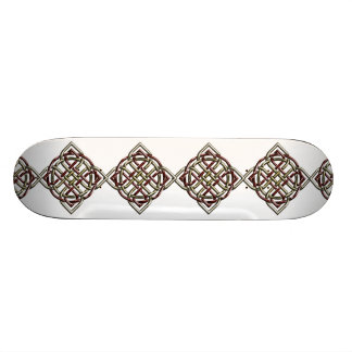 Celtic Shield Knot Skateboard