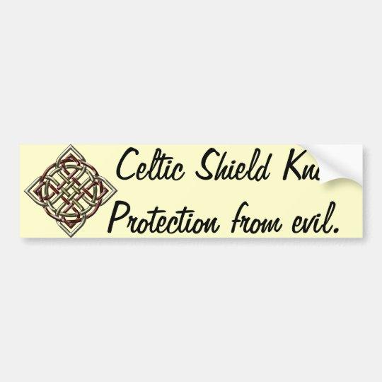 Celtic Shield Knot Sticker
