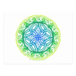 Celtic Shield Postcard