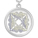 CELTIC SILVER PLATED NECKLACE