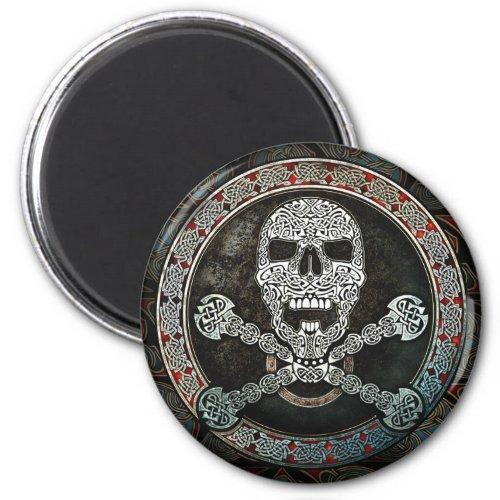 Celtic Skull & Crossbones Magnet