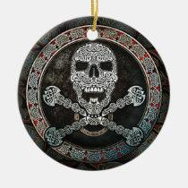 Celtic Skull & Crossbones Pendant/Ornament