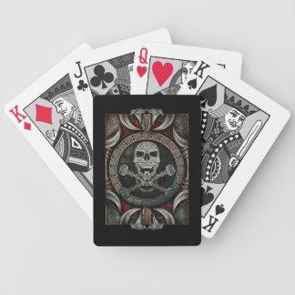 Celtic Skull & Crossbones Playing Cards