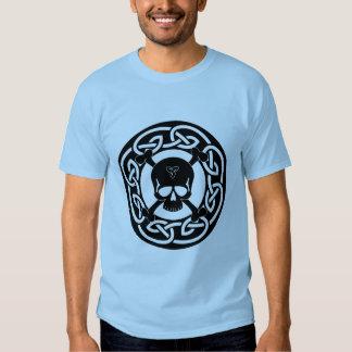 Celtic Skull & Crossbones T-Shirt