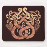 Celtic Snakes Mouse Pad